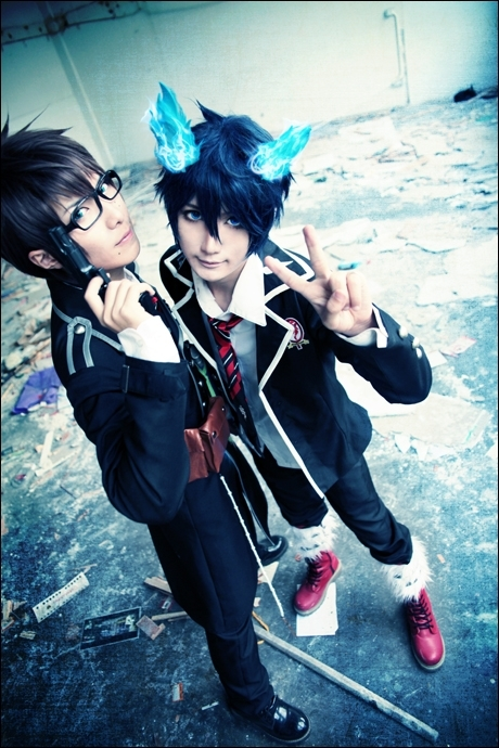 Ao no Exorcist | Baozi and Hana