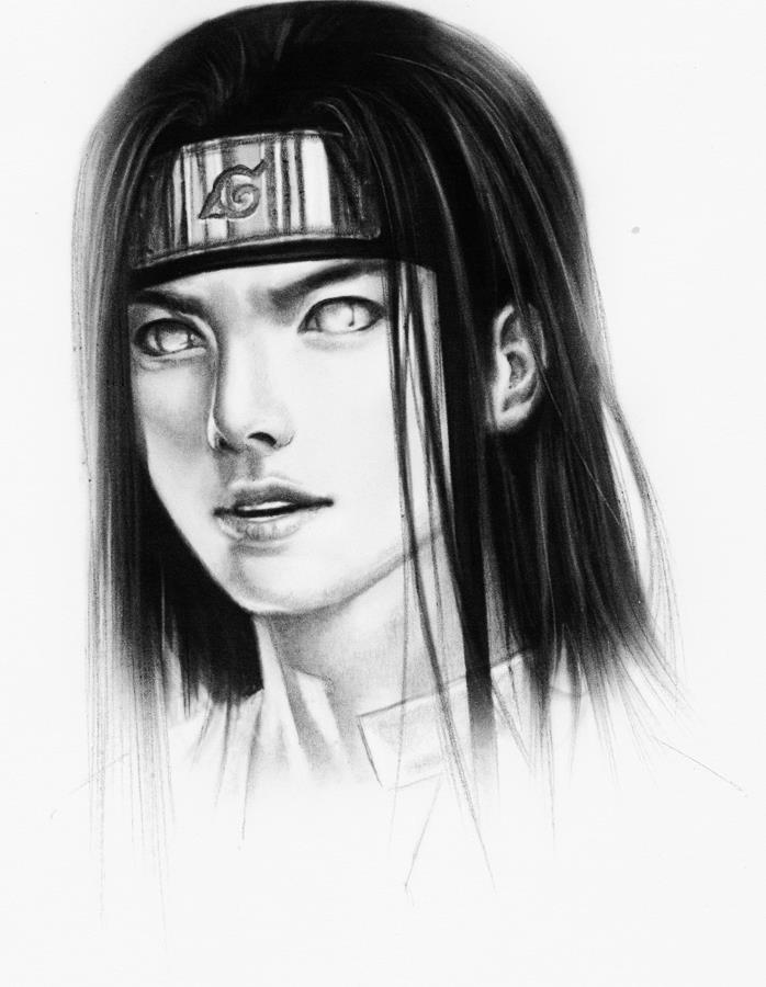 Neji Drawing Fantasy Becomes Reality