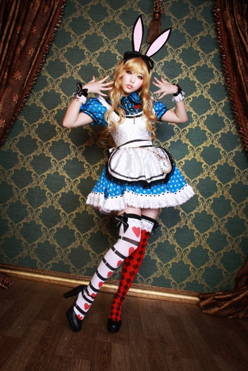Alice in Wonderland Mussum Cosplay