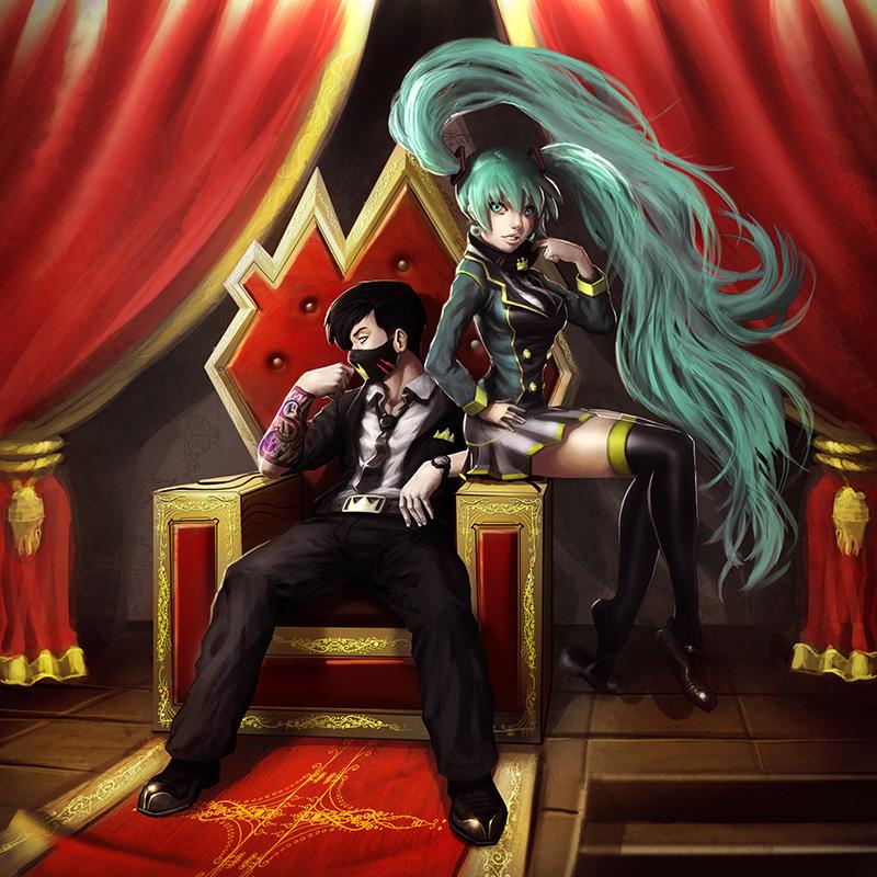 Otaku King Hatsune Miku Nico Lee Lazarus