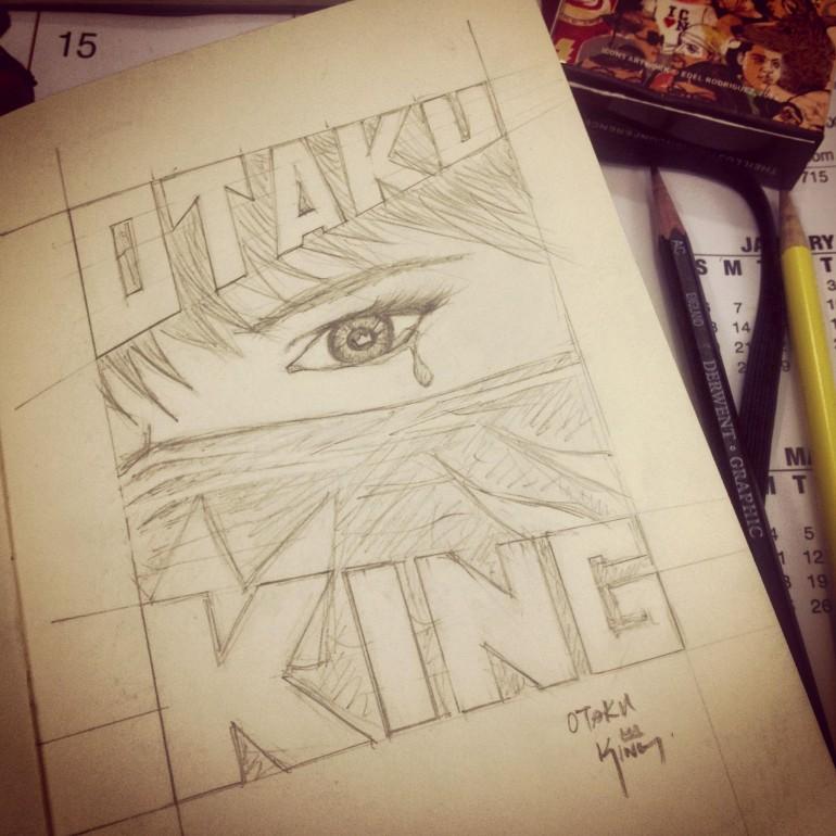 Otaku King T-Shirt concept