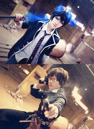 Ao no Exorcist - Rin Okumura - ATO cosplay
