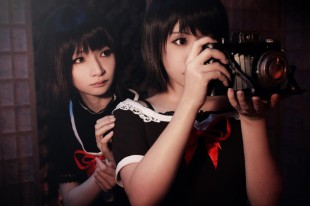 Fatal Frame 2 Crimson Butterfly-Sisters Cosplay